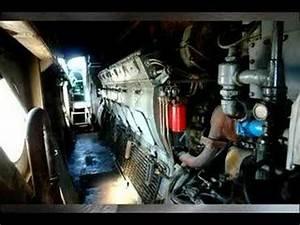 Starting A 567 Gm  U0026quot E U0026quot  Locomotive Diesel Engine