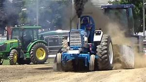 Blue Hooker Ford 9000 Tractor Pull