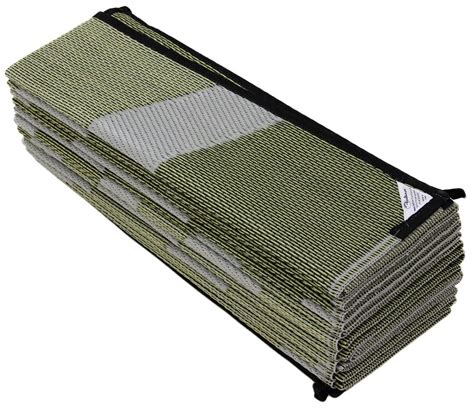rv outdoor mats faulkner rv mat mirage silver and gold 8 x 16