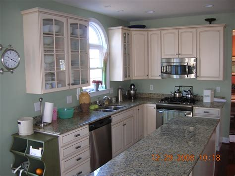 sherwin williams softened green great color  kitchen