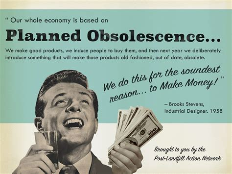 planned obsolescence post landfill action network plan