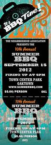 bbq tickets template - bbq kettle grill event ticket
