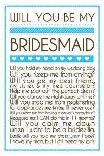 asking bridesmaids quotes for wedding bridesmaid quotesgram