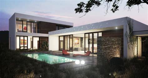 photos and inspiration single story modern house designs one story modern house plan wf2studio modern plan