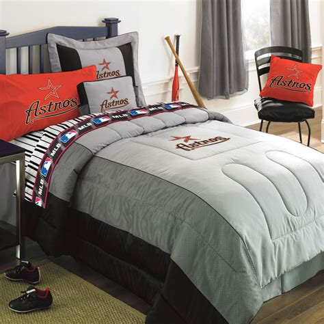 houston astros mlb authentic team jersey bedding twin size