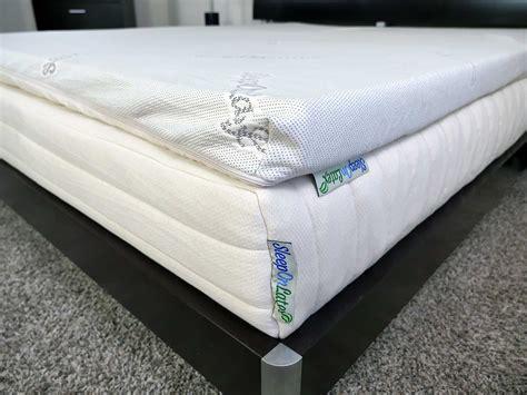 sleep  latex mattress topper review sleepopolis