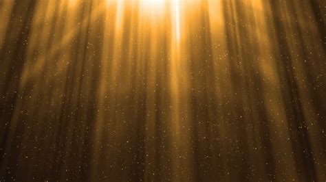 Bright Golden by Golden Light Rays Background Loop Motion Background