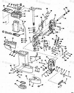 Johnson Outboard Parts By Hp 50hp Oem Parts Diagram For