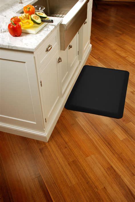 black kitchen floor mats black wellness mats anti fatigue kitchen mat 3 x 2 on 4701
