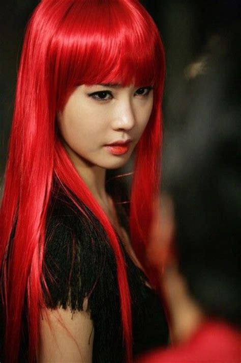 45 Best Images About Dyed Asian Hair On Pinterest Fire
