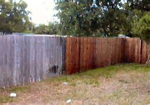 Cedar Fence Stains and Sealers