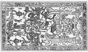 Alien Explorations: Pakal Votan tomb lid