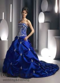 royal blue wedding dress beautiful photos of royal blue wedding dresses sangmaestro
