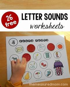 26 free beginning sounds worksheets the measured mom With alphabet letter sounds games