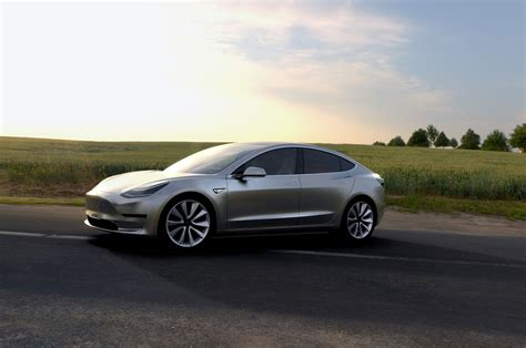 2018 Tesla Model 3 Reviews And Rating Motortrend