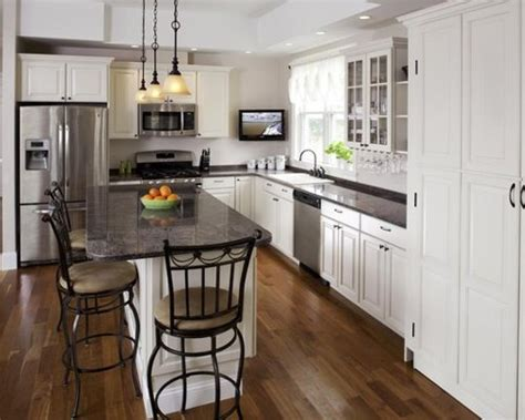 shaped kitchen layouts home design ideas pictures