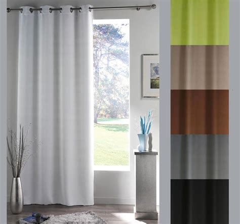 rideau de fenetre de chambre rideau panneau pour fenêtre 140 x 180 cm œillets occultant