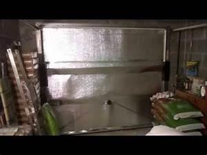 tuto comment isoler sa porte de garage du froid youtube With comment isoler une porte de garage