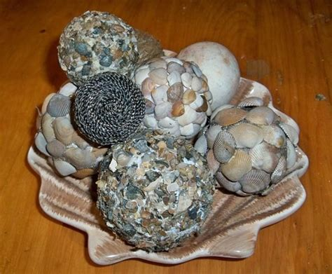 Decorative Orbs Wood Metal Ball Rustic Home Decor Spheres: DIY Beach Decorative Balls