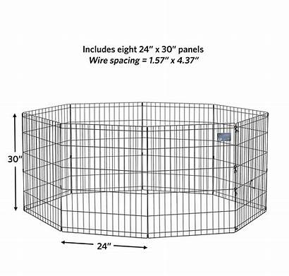 Midwest Pen Pets Homes Puppy Playpen Exercise