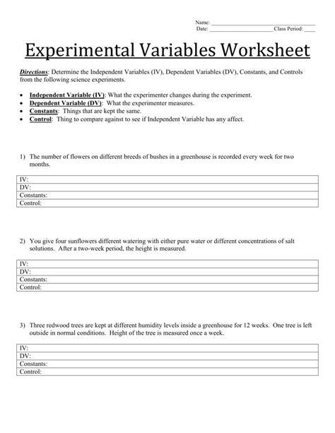 fundamentals of experimental design answers worksheet experimental variables worksheet grass fedjp