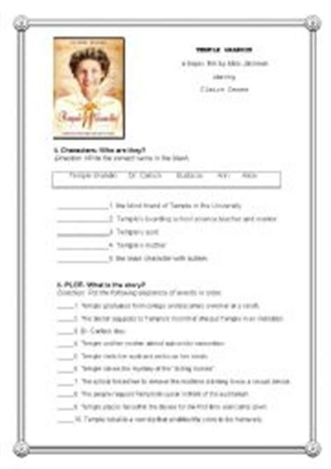 english worksheets temple grandin post  activity