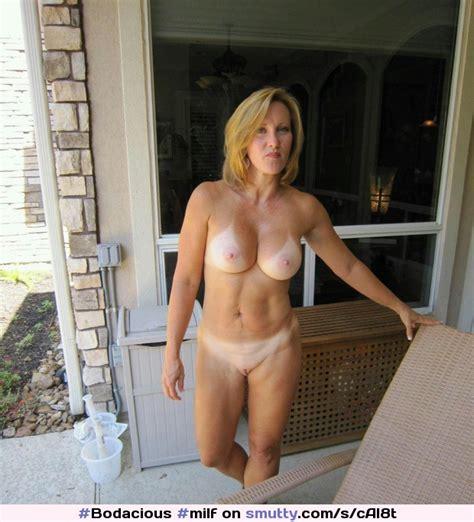 Milf Amateur Hot Outdoors Tanlines Bigtits Blonde