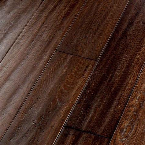 prefinished oak hardwood flooring shop natural floors by usfloors exotic 4 8 in w prefinished oak hardwood flooring hickory brown