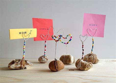 muttertagsgeschenke basteln kindergarten muttertagsgeschenke selber basteln briefhalter bastelarbeiten muttertag abschiedsgeschenk