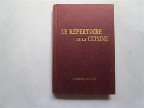 repertoire de la cuisine le repertoire de la cuisine saulnier l foxing