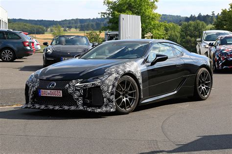 New Lexus Lc F Coupe Caught On Camera