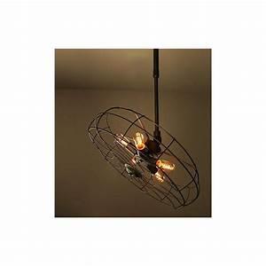 industrial retro edison fan pendant lamp design by vitra With edison fan floor lamp