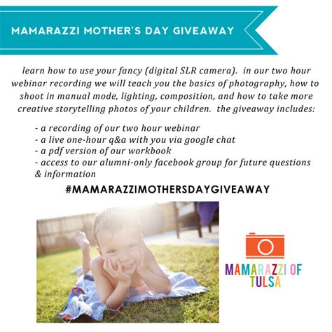 Mamarazzi mothers Day Giveaway » Jenny Collier Blog