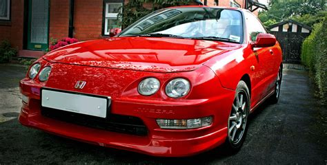 honda integra type  dc ukdm milano red page