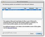 Check for, office for Mac updates