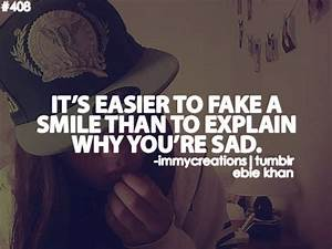 Sad Smile Quotes Sad Quotes Tumblr About Love That Make ...