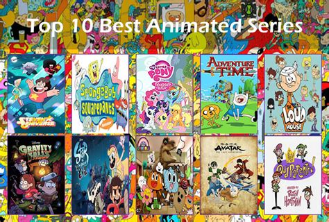 Top 10 Best Animated Series By Shevanda04 On Deviantart