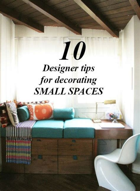 Decorating Tips Designers by 10 Designer Tips For Decorating Small Spaces Ebay
