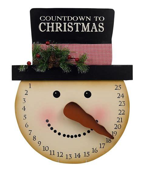 snowman christmas countdown calendar snowmen pinterest