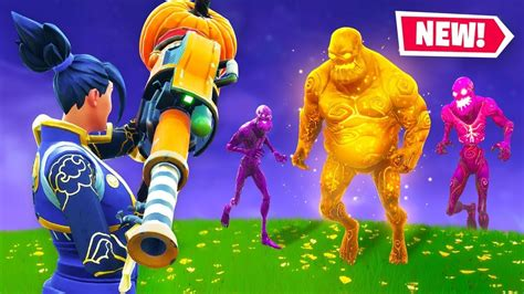 zombies  fortnite battle royale halloween event youtube