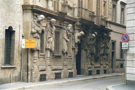 Milano Casa Degli Omenoni