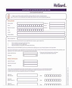 Financial Declaration Form 12 Scholarship Declaration