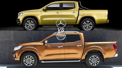 Mercedes X Class Nissan mercedes x class vs nissan navara top speed