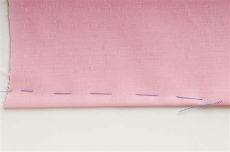 baste  sewing  illustrated tutorial