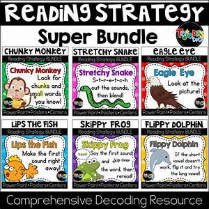 Reading Strategies Super Bundle  6 Strategy Packs Plus