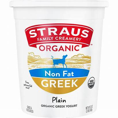 Yogurt Plain Greek Fat European Organic Whole