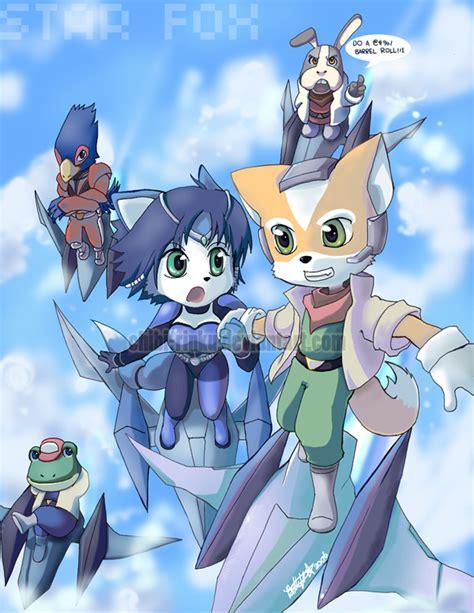 Star Fox By Bettykwong On Deviantart