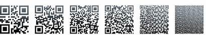 Qr Codes Version Code Data Resources Density