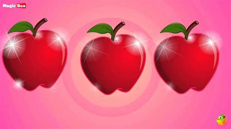 An Apple A Day - English Nursery Rhymes - Cartoon/Animated ...