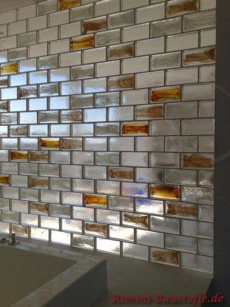 Wand Aus Glasbausteinen by Wand Und Fassade Glasbausteine Pietre Di Vetro In Den
